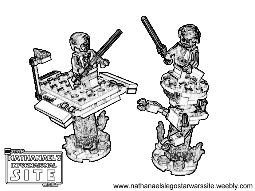 ninjago vs darth vader lego coloring pages | Coloring Pages - LEGO Star Wars: Nathanael's Informational ...