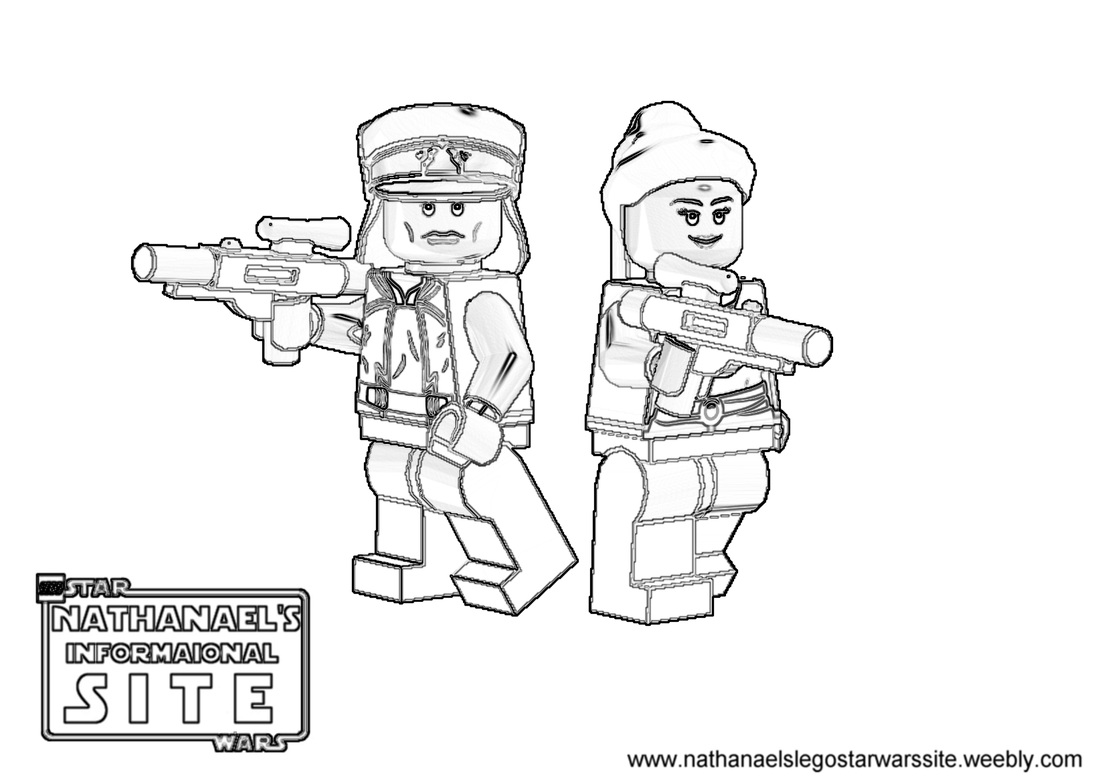 Coloring Pages - LEGO Star Wars: Nathanael\'s Informational Site