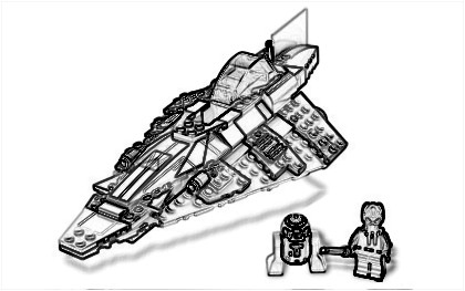 Coloring Pages LEGO Star Wars Nathanael 39 s Informational