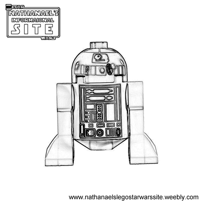 r2d2 coloring pages - photo #33