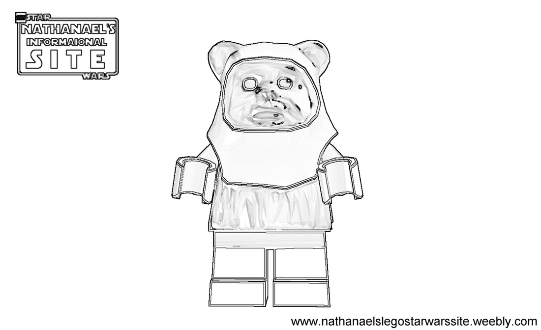 star wars ewok coloring pages - photo#28