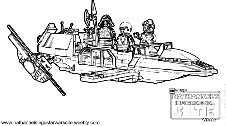 Coloring Pages LEGO Star Wars Nathanaels Informational Site